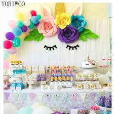 Paper Flower Wedding Backdrops Yoriwoo 2pcs 20cm Artificial Paper Flowers Wedding Backdrop Wall Baby Shower Kids Birthday Party Decoration Diy Craft Supplies