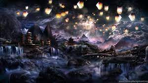 DeviantArt: More Like Fantasy Landscape ...