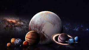 太陽系の惑星の画像