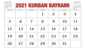 Kurban Bayramı resmi tatili kaç gün olacak? 2021 Kurban Bayramı ne zaman? -  GÜNCEL Haberleri