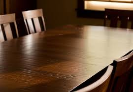 how to clean wood furniture table
