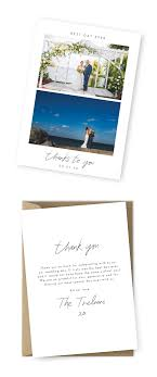 10 Wording Examples For Your Wedding Thank You Cards For The Love