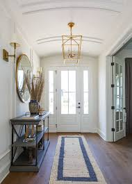 Light fixture, mirror and console table are from Restoration ...