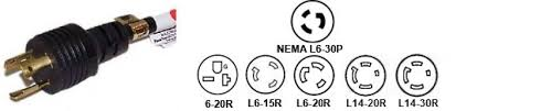 l6 30 adapters l6 30p locking pigtail power cables x y electrical wiring at L6 30r Wiring Diagram