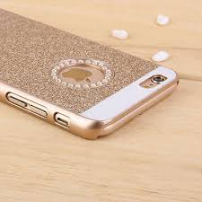 iphone 5s gold case for girls. luxury bling glitter crystal hard back case cover for iphone 7 5 5s se 6 6s iphone gold girls t