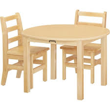 jonti craft multi purpose round tables maple