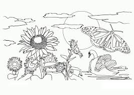 Small Picture Free Printable Nature Coloring Pages For Kids For Adults itgodme
