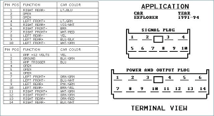 2008 ford escape audio wiring diagram freddryer co  at 2006 Ford Escape Xlt 2 3l Engine Wiring Diagram