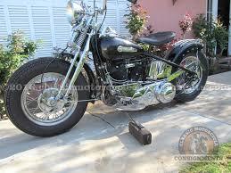 1946 harley davidson el knucklehead bobber for sale
