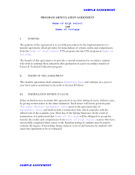 Letter Of Intent For Employment Template Sample Job Transfer Student