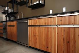 Reused Kitchen Cabinets Reclaimed Wood Kitchen Cabinetry Cliff Kitchen