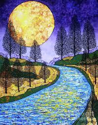 moon river art