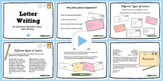 T L 4839 Types of Letters PowerPoint ver 3