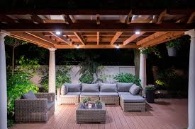 image of outdoor lighting ideas for summer