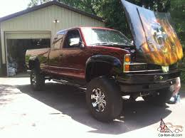 SELL FAST! 1989 Chevy K2500 lifted show truck custom paint fresh ...