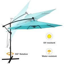 large patio umbrella to enjoy outdoor