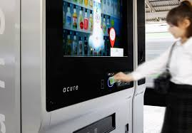 Touch Screen Vending Machine Japan Simple Acure Digital Vending Machine