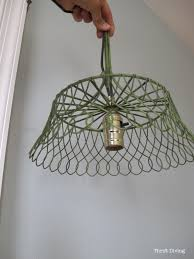 how to make a diy pendant lamp thrift diving blog 7
