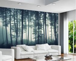 Beibehang Aangepaste Behang 3d Natuurlijke Landschap Bos Boom