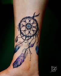 Beautiful Dream Catcher Tattoos Found on Google from inpinterest Dream Catcher Tattoo 34
