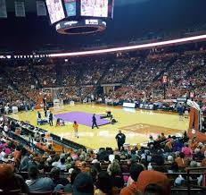 Frank Erwin Center Section 24 Row 22 Seat 10 Home Of