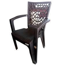 hand rest arms plastic garden chair