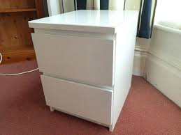 bedside table glass top white ikea malm with hemnes nightstand round floating tables tall side black