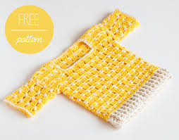Crochet Baby Sweater Pattern Custom FREE Crochet Pattern Crochet Baby Sweater Summer Sun Croby Patterns