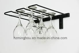 china wall mounted hanging metal wine glass rack stemware rack china stemware rack wine glass rack