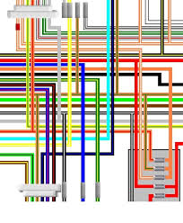 suzuki gsx gsx katana uk spec colour wiring loom diagram suzuki gsx750 gsx1100 katana uk spec colour wiring diagram