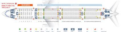 air canada 777 seat map image air canada plane layout qatar airways airlines boeing 777 300er