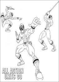 Kids N Fun 111 Kleurplaten Van Power Rangers