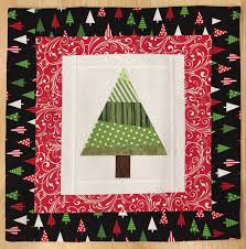 Christmas Project of the Month September 2017 - Christmas Tree ... & Christmas Project of the Month September 2017 - Christmas Tree Quilt Block  Pillow or Hot Pad Adamdwight.com