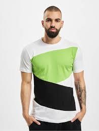 <b>Urban Classics</b> Верхняя <b>одежда</b> / <b>Футболка</b> Zig Zag белый 102681