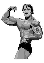 Kleurplaat Arnold Schwarzenegger Afb 29646 Images