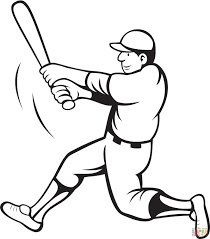 Small Picture Baseball Coloring Pages And Jackie Robinson Coloring Page glumme