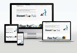 Pad Website Design Website Design Development For Discountfloorpads Com
