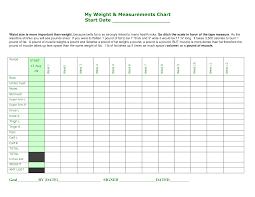 Printable Body Measurement Chart Weight Loss Printable Body Measurement Chart Sada Margarethaydon Com