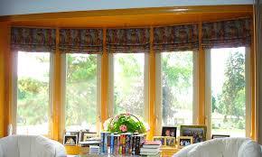 Kitchen Bay Window Treatment Popularity Window Treatment Ideas For Bay Windows For Your Home