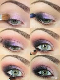 purple and pink eye makeup tutorial image to find more makeup posts should the need ever arise for pink purple eye shadow bo i m good to go