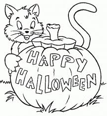 Small Picture Halloween Coloring Pages Esl Coloring Page within Halloween Kids