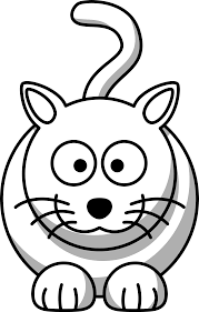 Small Picture Bandicoot Animal Coloring Pages Cartoon Cat Black White Line