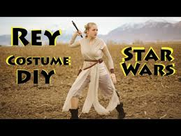 rey costume diy star wars the force awakens