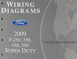 2009 ford f250 f350 f450 f550 truck electrical wiring diagrams wiring diagrams ford 2009 f 250 350 450 550 super duty