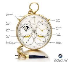 functions and indications of the george daniels space travellers watch