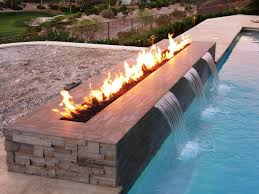 6 photos gallery of outdoor fireplace glass rocks ideas