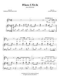 Sheet Music — Jacob Yandura