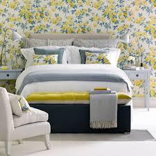 Schönheit Atemberaubende Dekoration Schlafzimmer Grau Gelb