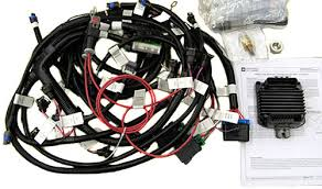 chevy 12499116 ram jet 350 mefi iv harness upgrade kit jegs chevrolet performance 12499116