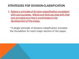 unit division classification ppt video online  strategies for division classification